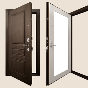 Дверь Гранит Ультра С4 Зеркало